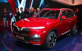 VinFast sản xuất sedan và SUV Lux từ tháng 3 năm sau với 1.200 robot