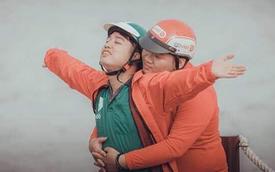 Bộ ảnh cưới đong đầy yêu thương của đôi uyên ương Go-Viet, Grab