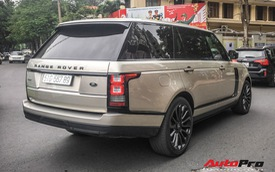 Range Rover Autobiography đeo siêu biển 567.89 giống Lamborghini Huracan tại Đà Nẵng