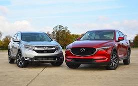 Mazda CX-5 và Honda CR-V ganh đua ngôi vương, Hyundai Tucson và Mitsubishi Outlander âm thầm vươn lên dịp cuối năm