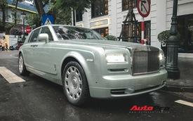 Rolls-Royce Phantom Hadar độc nhất vô nhị trên thế giới lăn bánh tại thủ đô
