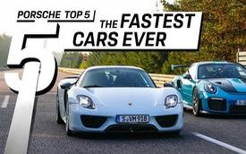 5 dòng xe nhanh nhất lịch sử Porsche: Bét cũng phải 330km/h