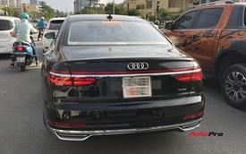 Audi A8 2018 đầu tiên lăn bánh tại Hà Nội