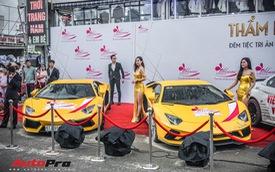 Chủ nhân Lamborghini Aventador S duy nhất Việt Nam khoe dàn xe khủng ngày Việt Nam vô địch AFF Cup