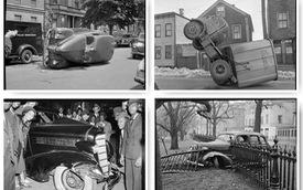 Bộ ảnh hiếm về tai nạn xe hơi ở thế kỷ trước