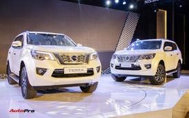 """Chênh gần 240 triệu đồng, Nissan Terra """"full option"""" hơn thua gì so với bản tiêu chuẩn?"""