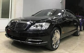 Thợ Việt thay đổi 22 chi tiết, biến Mercedes-Benz S-Class đời 2007 thành Maybach 2012