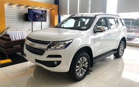 Chevrolet Trailblazer lội ngược dòng tăng giá dịp cuối năm