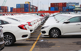 Tuần qua, ô tô nhập khẩu tăng đột biến