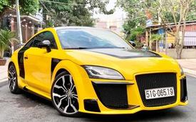 Audi TT độ kiểu R8 hầm hố hơn hẳn, rao bán ngang Toyota Altis