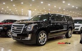 """""""Khủng long"""" Cadillac Escalade ESV chạy hơn 18.000 km giá 5,3 tỷ đồng - ngang giá Mercedes-Benz GLS400 mới cho chồng cộng Toyota Yaris cho vợ"""
