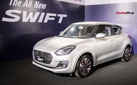 Giá cao hơn 100 triệu đồng, Suzuki Swift tại Việt Nam còn thiếu loạt trang bị an toàn so với bản Thái Lan