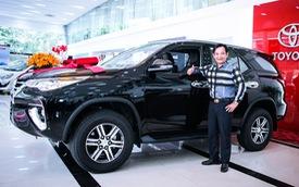 Chán Nissan X-Trail, danh hài Quang Tèo tậu Toyota Fortuner chơi Tết