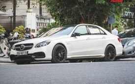 """Mercedes-AMG E63 S 4Matic duy nhất tại Hà Nội được chủ nhân """"tân trang"""" bộ mâm hàng hiệu"""
