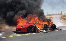 Cháy siêu xe - Hậu quả từ những thói quen xấu, không chỉ vì nẹt pô