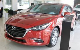 10 xe bán chạy nhất tháng 1/2018: Mazda3 bám đuổi gắt gao vua doanh số Toyota Vios