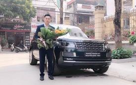 Đại gia Lào Cai nhận xe Range Rover SVAutobiography 20 tỷ chính hãng chơi Tết