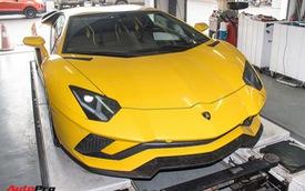 Bộ ba siêu xe Lamborghini được bảo dưỡng chính hãng trước khi đi Car & Passion 2018
