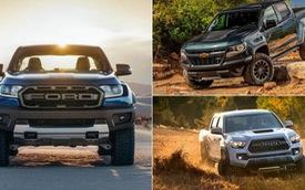 Cân sức mạnh của Ford Ranger Raptor so với các đối thủ
