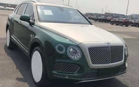 Khui công Bentley Bentayga 2 màu độc nhất Việt Nam
