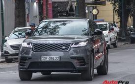 Cặp đôi Range Rover Velar First Edition ra biển trắng tại Hà Nội