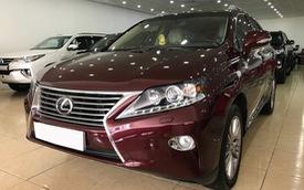 Sau gần 5 năm sử dụng, Lexus RX350 bán lại vẫn có giá 2,55 tỷ đồng