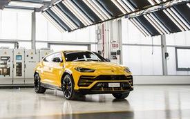 Siêu SUV Lamborghini Urus sắp được nhập về Việt Nam