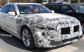 BMW 7-Series mới lộ diện: Lưới tản nhiệt hình quả thận đã thay đổi