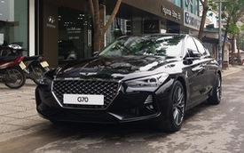 Cạnh tranh Mercedes-Benz C-Class, Genesis G70 được chào giá 1,7 tỷ đồng