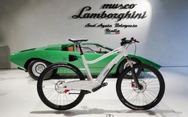Lamborghini lấn sân sang lĩnh vực... xe đạp điện