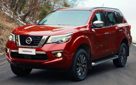 Nissan Terra - SUV 5 chỗ tham vọng cạnh tranh Toyota Fortuner