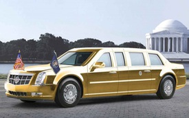 Siêu limousine Cadillac chống đạn mới của Tổng thống Trump chuẩn bị trình làng