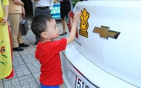 Hơn 75.000 người Việt làm quen với việc thắt dây an toàn cho trẻ nhỏ trong ô tô