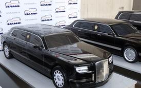 """""""Quái thú"""" limousine của ông Putin đã lộ diện, còn ông Trump phải đợi lâu nữa mới có xe mới"""
