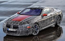 BMW 8-Series lộ diện trước ngày ra mắt chính thức