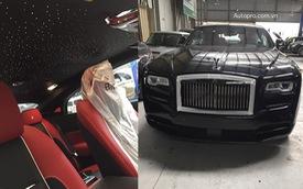 Siêu phẩm Rolls-Royce Wraith Black Badge thứ 2 về Việt Nam