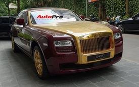 Rolls-Royce Ghost dát vàng khủng nhất Việt Nam xuất hiện tại đại bản doanh FLC
