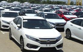 """Vẫn còn """"lênh đênh"""", nhập khẩu ô tô nguyên chiếc bất ngờ suy giảm"""