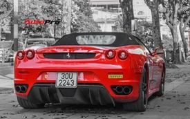 Siêu xe Ferrari F430 Spider vang bóng một thời tái xuất tại Hà Nội