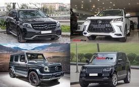 Những mẫu xe SUV hạng sang có tầm giá khoảng 10 tỷ đồng tại Việt Nam