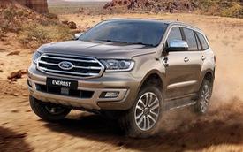Ford Everest 2018 mở đặt cọc cho khách Việt: Giá tạm tính rẻ hơn cả trăm triệu đồng