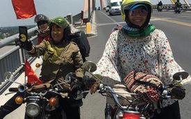 Nhóm phượt thủ toàn các bác gái trung niên chất lừ chạy xe cổ vòng quanh đất nước
