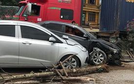 """Hình ảnh vụ tai nạn ở quốc lộ 5 khiến dân mạng """"đau đầu"""" tranh cãi nguyên nhân"""
