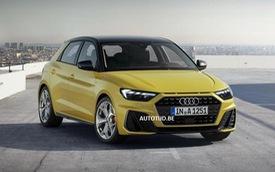 Rò rỉ những hình ảnh chính thức đầu tiên của Audi A1 2019