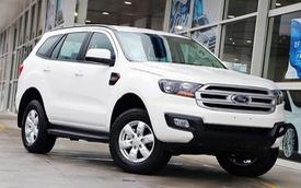 Ford Everest phiên bản mới đua giá thấp nhất phân khúc với Chevrolet Trailblazer tại Việt Nam