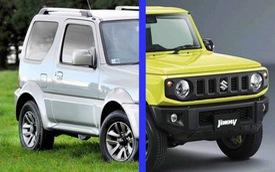 Suzuki Jimny đã thay đổi như thế nào so với người tiền nhiệm?