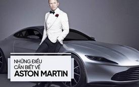 3 tháng nữa vào Việt Nam, Aston Martin là hãng xe như thế nào?