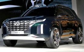 Hyundai giới thiệu SUV 7 chỗ lớn hơn Santa Fe, cạnh tranh Toyota Prado