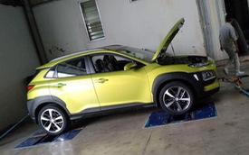 Hyundai Kona đã có mặt ở nhà máy tại Ninh Bình, sẵn sàng đấu Honda HR-V