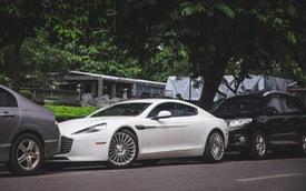 """Gặp lại """"nữ hoàng"""" Aston Martin Rapide S dạo phố Hà Thành"""